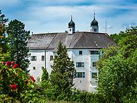 Deutschland, Bayern, Oberbayern, Chiemgau (Rosenheimer Land), Amerang: Schloss Amerang   Germany, Upper Bavaria, Chiemgau, Amerang: Amerang Castle