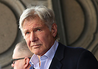 LOS ANGELES, CA - MARCH 8: Harrison Ford at the Hollywood Walk Of Fame Ceremony honoring Mark Hamill in Los Angeles, California on March 8, 2018. <br /> CAP/MPI/FS<br /> &copy;FS/MPI/Capital Pictures