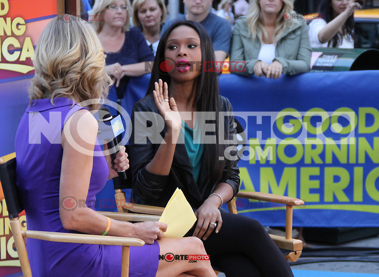 NEW YORK, NY - SEPTEMBER 10: Jennifer Hudson at Good Morning America in New York City. © RW/MediaPunch Inc. /NortePhoto.com<br />