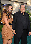 "WESTWOOD, CA - JULY 06: Steffiana De La Cruz and Kevin James arrive to the ""Zookeeper"" Los Angeles Premiere at Regency Village Theatre on July 6, 2011 in Westwood, California."