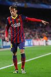 UEFA Champions League 2013/2014.<br /> FC Barcelona vs Celtic FC: 6-1 - Game: 6.<br /> Neymar