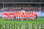 Castlebar Mitchels team pictured at the All Ireland semi-final on Saturday.