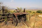 Old tiller off Willow Creek Road