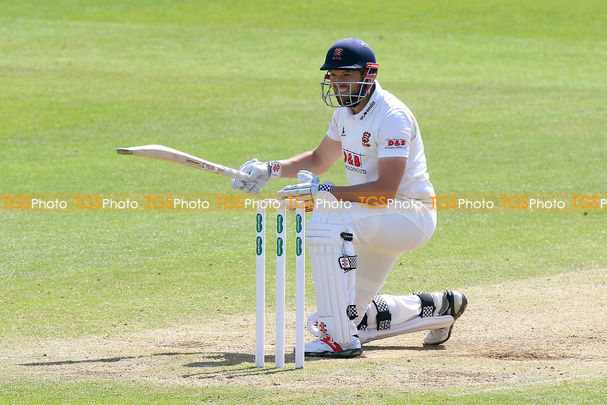 Frustration for Nick Browne of Essex as he is dismissed by Jamie Overton during Somerset CCC vs Essex CCC, Specsavers County Championship Division 1 Cricket at The Cooper Associates County Ground on 16th April 2017