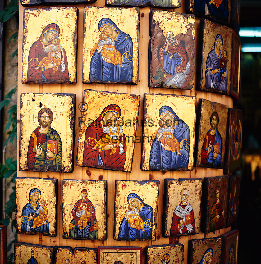 Greece, Greek Orthodox Icons | Griechenland, Griechisch-Orthodoxe Ikonen