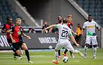 Jonas Hofmann (Bor. Moenchengladbach) (23) schiesst das 1:0 Tor.<br /><br />27.06.2020, Fussball, 1. Bundesliga, Saison 2019/20, 34. Spieltag, Borussia Moenchengladbach - Hertha BSC Berlin, <br /><br />Foto: MORITZ MUELLER/POOL/via/Meuter/Nordphoto<br />Only for Editorial use