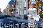 Victoria McCarthy standing in Day Place, Tralee  on Tuesday