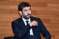 Andrea Agnelli <br /> Milano 19/09/2019 - convegno Financial Fair Play / Photo Daniele Buffa/Image Sport/Insidefoto
