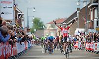 stage winner: Greg Henderson (NZL/Lotto-Belisol)<br /> <br /> Ster ZLM Tour<br /> stage 3: Buchten-Buchten (190km)