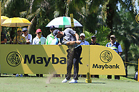 Lee Westwood (ENG) in action on the 7th during Round 3 of the Maybank Championship at the Saujana Golf and Country Club in Kuala Lumpur on Saturday 3rd February 2018.<br /> Picture:  Thos Caffrey / www.golffile.ie<br /> <br /> All photo usage must carry mandatory copyright credit (© Golffile | Thos Caffrey)