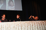 "Young & Restless Greg Rikaart and Michelle Stafford and Stephen Nichols at Meet & Greet wine tasting event a part of the Soap Opera Festivals Weekend - ""All About The Drama"" on March 24, 2012 at Bally's Atlantic City, Atlantic City, New Jersey.  (Photo by Sue Coflin/Max Photos)"