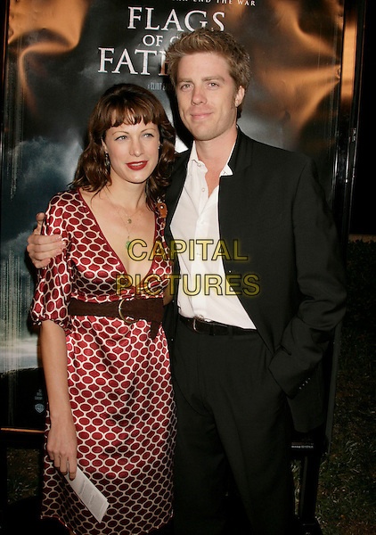 "ALISON EASTWOOD & KYLE EASTWOOD.""Flags of Our Fathers"" Los Angeles Premiere held at the Academy of Motion Picture Arts and Sciences, Beverly Hills, California, USA, 09 October 2006..half length sister brother family.Ref: ADM/RE.www.capitalpictures.com.sales@capitalpictures.com.©Russ Elliot/AdMedia/Capital Pictures."