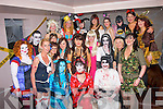 Midnight madness.----------------.Staff of Debenhams,Manor Shopping Centre,Tralee had a screaming time at their Halloween party last Sunday night in the AbbeyInn,Tralee..