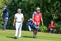 Sanghyun Park (KOR) on the 2nd during the final round at the WGC HSBC Champions 2018, Sheshan Golf CLub, Shanghai, China. 28/10/2018.<br /> Picture Fran Caffrey / Golffile.ie<br /> <br /> All photo usage must carry mandatory copyright credit (&copy; Golffile | Fran Caffrey)