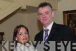 Duagh GAA Social: Attending the Duagh GAA club Social on Friday night last at the Listowel Arms Hotel were  Donna Lynch & John Dillon.