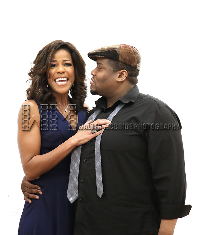 "Nicole Henry and Juson Williams During the Open Rehearsal for the Miami New Drama's World Premiere Musical  ""A Wonderful World"" at the Ripley-Grier Studios on January 26, 2020 in New York City."