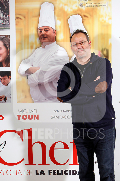 French actor Jean Reno attends 'El Chef, la receta de la felicidad' ('Comme un chef') photocall at Intercontinental Hotel in Madrid Spain. November 26, 2012. (ALTERPHOTOS/Caro Marin)