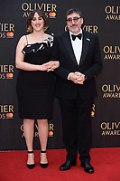 Alfred Molina &amp; daughter arriving for the Olivier Awards 2018 at the Royal Albert Hall, London, UK. <br /> 08 April  2018<br /> Picture: Steve Vas/Featureflash/SilverHub 0208 004 5359 sales@silverhubmedia.com