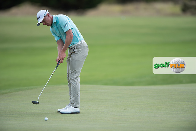 Grant Forrest (SCO) during the 2nd round of the VIC Open, 13th Beech, Barwon Heads, Victoria, Australia. 08/02/2019.<br /> Picture Anthony Powter / Golffile.ie<br /> <br /> All photo usage must carry mandatory copyright credit (© Golffile | Anthony Powter)
