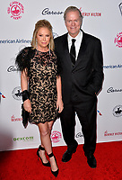 LOS ANGELES, CA. October 06, 2018: Kathy Hilton & Rick Hilton  at the 2018 Carousel of Hope Ball at the Beverly Hilton Hotel.<br /> Picture: Paul Smith/Featureflash