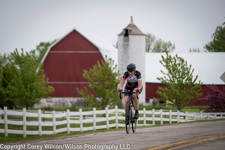 BayCare Clinic Century Bayshore to Lakeshore cycling event across Brown, Door and Kewaunee Counties on June 3, 2017. Courses of 20-miles, 60-miles and 100-miles were offered for cyclists of all skill levels.
