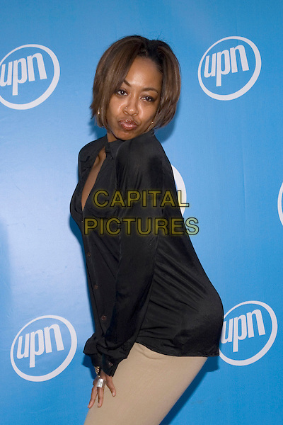 21 July 2005 - Los Angeles, California - Tichina Arnold.  UPN Summer 2005 Press Tour Party Arrivals held at Paramount Studios.  Photo Credit: Zach Lipp/AdMedia