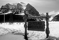 File Photo -  Chateau Lake Louise in Alberta