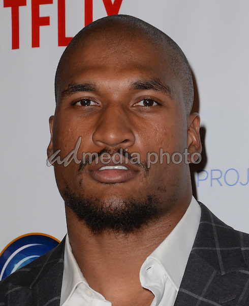 09 December - Beverly Hills, Ca - Larry English. Arrivals for the Junior Hollywood Radio and Television Society's 13th Annual Holiday Party held at Greystone Manor. Photo Credit: Birdie Thompson/AdMedia