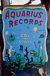 Aquarius Records, Valencia Street, San Francisco, California