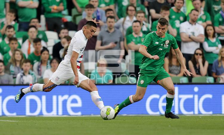 Dublin, Ireland - Saturday June 02, 2018: Rubio Rubin during an international friendly match between the men's national teams of the United States (USA) and Republic of Ireland (IRE) at Aviva Stadium.