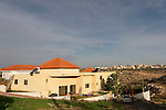 Samaria, Palestinian village Saniria as seen from settlement Ets Ephraim .