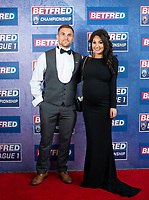 Picture by Allan McKenzie/SWpix.com - 25/09/2018 - Rugby League - Betfred Championship & League 1 Awards Dinner 2018 - The Principal Manchester- Manchester, England - Red carpet, Ben Cockayne.
