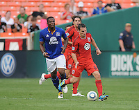 DC United midfielder Kurt Morsik (6)   Everton defeated DC United 3-1 in a international friendly ,at RFK Stadium, Saturday July 23, 2011.