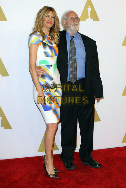 02 February 2015 - Beverly Hills, California - Laura Dern, Bruce Dern. 87th Academy Awards Nominee Luncheon held at the The Beverly Hilton Hotel.