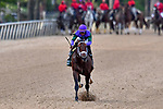 HOT SPRINGS, AR - APRIL 14:Arkansas Derby with #6 Magnum Moon with jockey Luis Saez winning. Oaklawn Park on April 14, 2018 in Hot Springs,Arkansas. (Photo by Ted McClenning/Eclipse Sportswire/Getty Images)