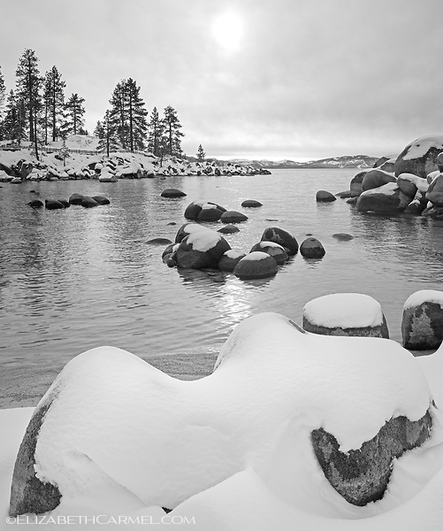 Fresh Snow, Sand Harbor II