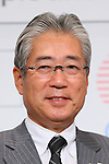 Tsunekazu Takeda, NOVEMBER 26, 2015 : <br /> LIXIL has Press conference in Tokyo. LIXIL announced that it has entered into a partnership agreement with the Tokyo Organising Committee of the Olympic and Paralympic Games. With this agreement, LIXIL becomes the gold partner. <br /> in Tokyo, Japan. (Photo by Yohei Osada/AFLO SPORT)