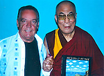 Guy Buffet and His Holiness, The Dalai Lama<br />