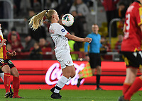 20191102 - LENS , FRANCE : LOSC's Aurore Paprzycki pictured during the female soccer match between Arras Feminin and Lille OSC feminin, on the 8th matchday in the French Women's Ligue 2 – D2 at the Stade Bollaert Delelis stadium , Lens . Saturday 2 November 2019 PHOTO DAVID CATRY | SPORTPIX.BE