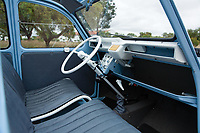 BNPS.co.uk (01202 558833)<br /> Pic: RMSothebys/BNPS<br /> <br /> Spartan interior.<br /> <br /> Super-rare twin engined 2CV 4x4...Yours for a whopping £90,000...<br /> <br /> It may be the epitome of cheap, basic motoring, but a humble Citroen 2CV car has emerged for sale for a staggering £90,000.<br /> <br /> The French two-door motor is one of only 700 Sahara 4x4 models made by the French marque, making it among the most desirable 2CVs around.<br /> <br /> It is thought less than 100 survive today of which just 30 are in usable, running condition.
