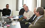 UTRECHT - Lambert Veenstra van VAG. Forumdiscussie Speelkwaliteit in de golfsport. FOTO KOEN SUYK