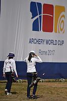 Chang Hye Jin, Ki Bo Bae Korea Recurve Women <br /> Roma 03-09-2017 Stadio dei Marmi <br /> Roma 2017 Hyundai Archery World Cup Final <br /> Finale Coppa del mondo tiro con l'arco <br /> Foto Andrea Staccioli Insidefoto/Fitarco