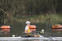 Caversham. Berkshire. UK<br /> Sebastian MATTHEWS.<br /> 2016 GBRowing U23 Trials at the GBRowing Training base near Reading, Berkshire.<br /> <br /> Monday  11/04/2016 <br /> <br /> [Mandatory Credit; Peter SPURRIER/Intersport-images]