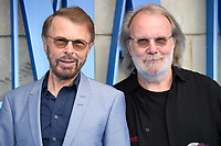 Bjorn Ulvaeus &amp; Benny Andersson arriving for the &quot;Mama Mia! Here We Go Again&quot; world premiere at the Eventim Apollo, Hammersmith, London, UK. <br /> 16 July  2018<br /> Picture: Steve Vas/Featureflash/SilverHub 0208 004 5359 sales@silverhubmedia.com