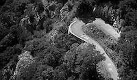 """""""Yates you can"""" up the Lacets de Montvernier (2C/782m/3.4km, 8.2%)<br /> <br /> stage 18: Gap - St-Jean-de-Maurienne (187km)<br /> 2015 Tour de France"""