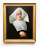 Vincentian artwork, Loop Campus; nun, sister, framed art, painting (DePaul University/Jamie Moncrief)