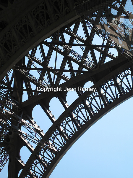 Eiffel Tower Triptych - Left