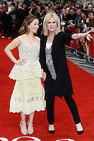 Emilia Clarke and Joanna Lumley<br /> arrive for the UK premiere of<br /> 'Me Before You'<br /> Curzon Mayfair, London