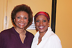 Leslie Uggams and Marva Hicks at the Signature Theater Alumni Performance of The First Breeze. Photo by Lia Chang