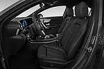 Front seat view of a 2019 Mercedes Benz A Class A 200 4 Door Sedan front seat car photos